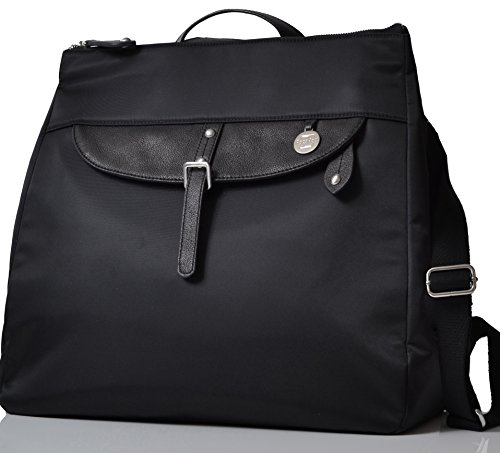 6ffa0c305a13d PacaPod Gladstone Black Designer Baby Changing Bag - Luxury Convertible  Messenger and Backpack 3 in 1