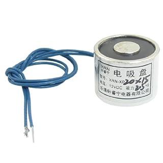 gesaugt Elektrische Lifting Magnet Elektromagneten 12VDC 2,5kg 2500g 20x 15mm
