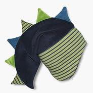 Zackenmütze Drachenmütze Kindermütze marine wintergrün