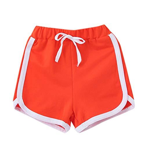 211d162df9655d Pantaloncini di Cotone, UOMOGO Estate Bambini Ragazzi & Ragazza Pantaloni  Corti e Coulisse Elasticità Pantaloncini