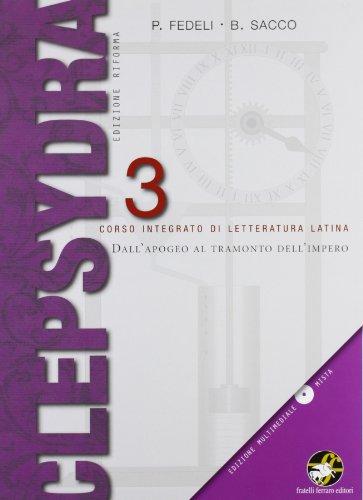 Clepsydra. Per i Licei e gli Ist. magistrali. Con CD-ROM: 3