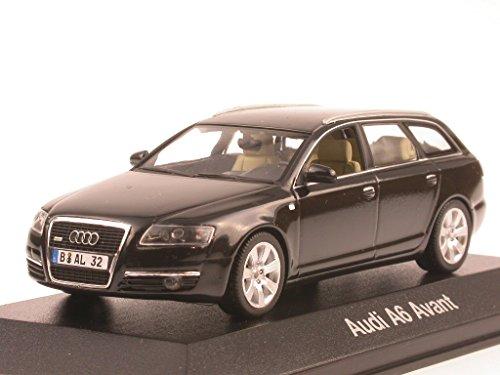 Preisvergleich Produktbild Audi A6 C6 Avant phantomschwarz Modellauto Minichamps 1:43