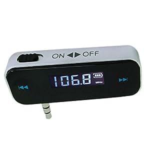 Enem Wireless FM Transmitter With Built In Battery