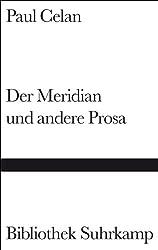 Der Meridian und andere Prosa (Bibliothek Suhrkamp)