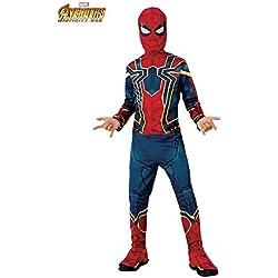 DISBACANAL Disfraz Spiderman Infinity War Infantil - Único, 8-10 Años