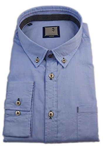Seidensticker -  Camicia classiche  - Basic - Con bottoni  - Uomo Blu