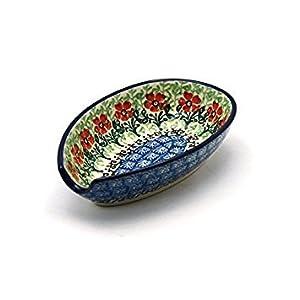 Polish Pottery Spoon Rest – Maraschino