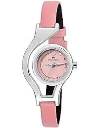 Swisstone WC302-Pink Dial Pink Strap Analog Wrist Watch For Women/Girls