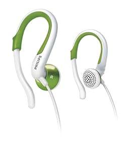 Philips SHS4844/10 Ear-Hook Headphones - Green/White