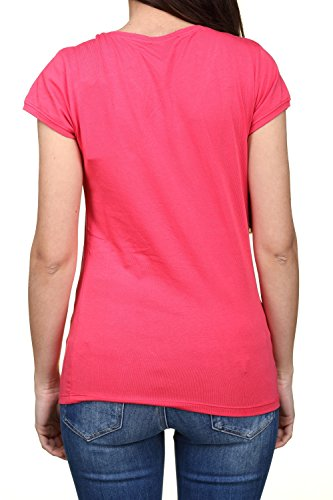 Kaporal Niame17w11, T-Shirt Femme Rose