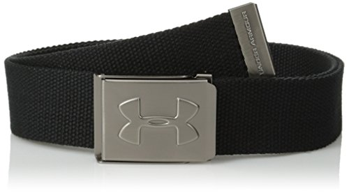 Under Armour Boys' Webbing Belt, Black (001), One Size