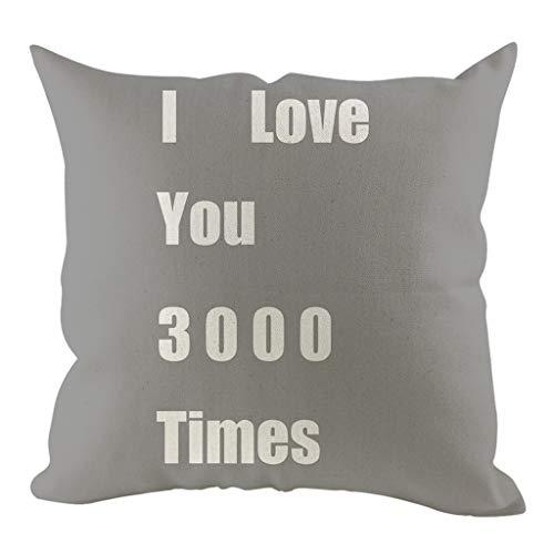 ZEELIY Kissenbezug 45 x 45 cm Dekorativ Einfache Kissenbezug Geometrische Muster 45 x 45cm Sofa Büro Dekor Kissenhülle Schlafzimmer Dekoration (Sex Pillow Hug)