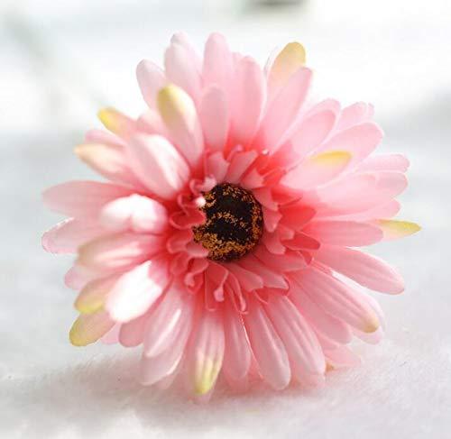 Rocita Ramo de crisantemo de simulación,Flores de crisantemo Artificial Flores Decoración romántica para Fiesta de Bodas (Rosa)