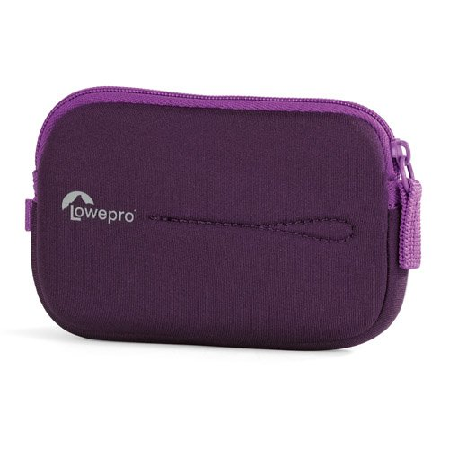 Lowepro Vail 10 Purple, LP36368 (Neoprene Pouch with Zipper for compact Camera. Size (Interior): 11, -