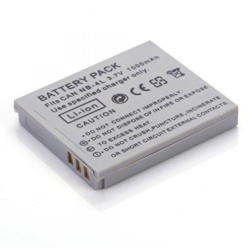 Rusty Bob - NB-4L Canon Digital Ixus IS,82 IS,100 IS,110 IS,115 HS,120 IS,130,220 HS,230 HS,i7,SD40,SD600,SD750,SD1000,SD1100 IS, TX1 - Akku Powershot Sd30 Digital Elph Kamera