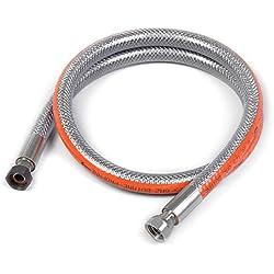 Home Gaz Flexible inox butane/propane 1 m sans date de péremption