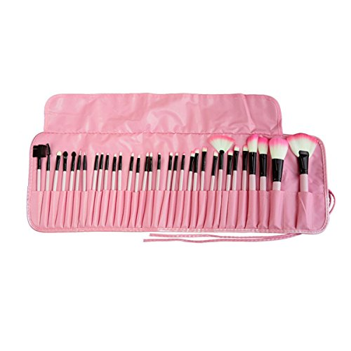 AiSi Make Up Brush Set 32 pcs Makeup Brush Set tools Make-up Toiletry Kit with Pouch and Bag