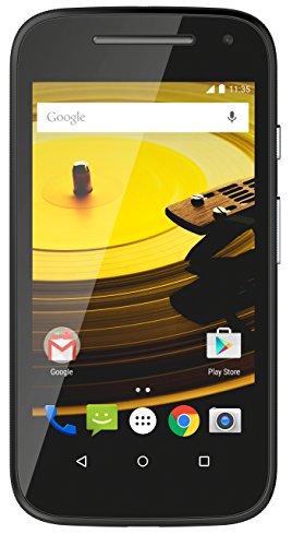 Moto E 2nd Generation (3G, Black)