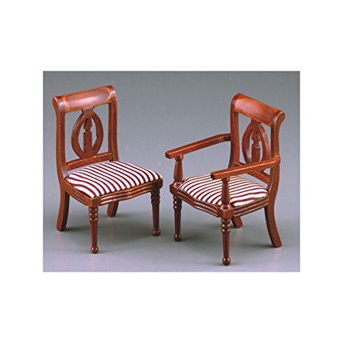 M.W. Reutter - Classical Chair with Armrest Measurements article in cm (L/W/H): 5 x 4,5 x 8