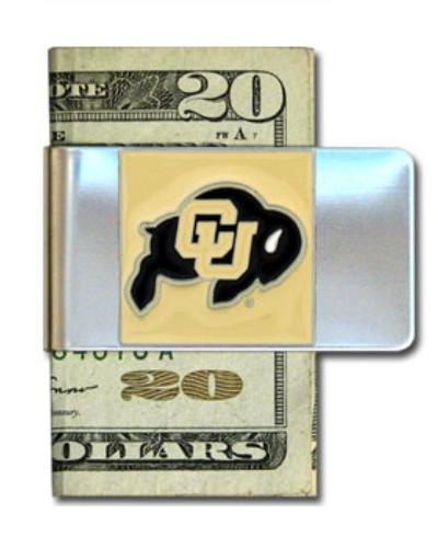 Siskiyou NCAA Stahl Geld Clip, Herren, CMCL57, Colorado Buffaloes