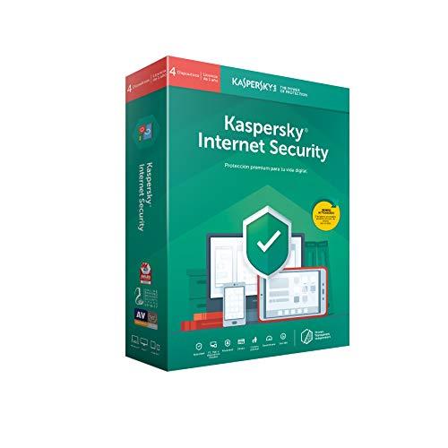 Kaspersky Lab Internet Security 2019 Base license 4 licenza/e 1 anno/i ESP