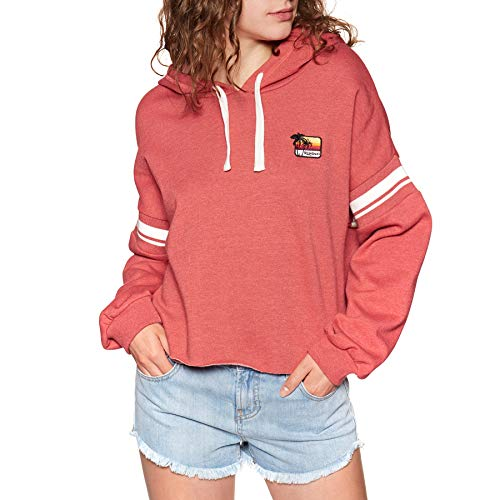 RIP CURL Damen Summer Lovin Hoodie Sweatshirt, Red, XL Edge Pullover Hoodie