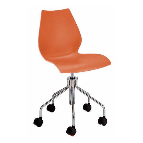 Kartell Maui 2870AA Chaise pivotante Orange