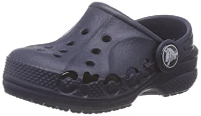 Crocs Baya, Unisex Kids' Clogs - Blue (Navy), 1 UK (32-33 EU)
