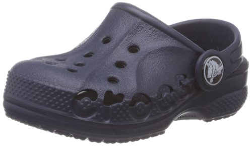 Crocs Baya Kids, Unisex - Kinder Clogs, Blau (Navy), 32/33 EU