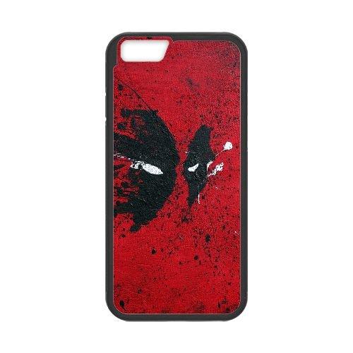 Deadpool coque iPhone 6 Plus 5.5 Inch Housse téléphone Noir de couverture de cas coque EBDXJKNBO12043
