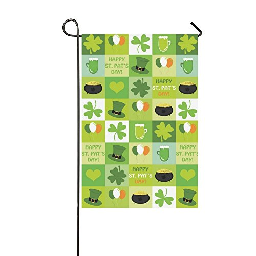 nuohaoshangmao Yard and Home Outdoor Decor - Holiday Celebrate Easter Cross Garden Decor Flags, Double Sided Polyester Outdoor Banner, 12 x 18 inches -