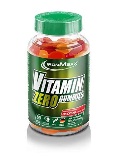 IronMaxx Vitamin Zero Gummies, 1er Pack(1 x 60 Stück)