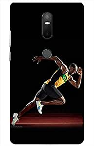 iessential bolt Designer Printed Back Case Cover for Lenovo Phab 2 Plus