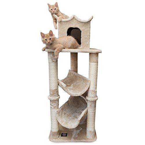 Majestic Pet Products Casita Kratzbaum für Katzen,