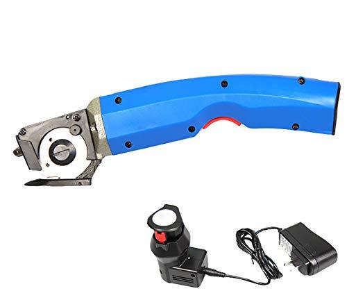 mxbaoheng C Elektrische Schere Ladekabel Schneiden Maschine Rundmesser trimmen Maschine Stoff tragen Cutter
