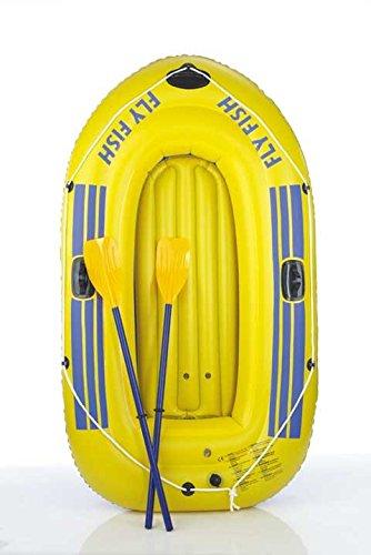 Happy People Sportboot 230er, gelb, 230x135, 77012