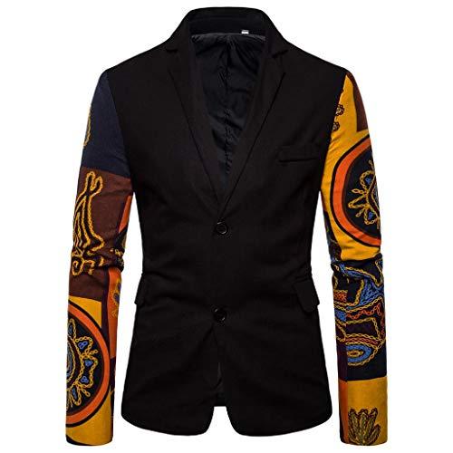 Zolimx-Bekleidung Herren Trenchcoat Lang Slim Fit Zweireihiger Mantel im Militärischen Stil Trench Coat mit Gürtel Frühling (Trench-gürtel)