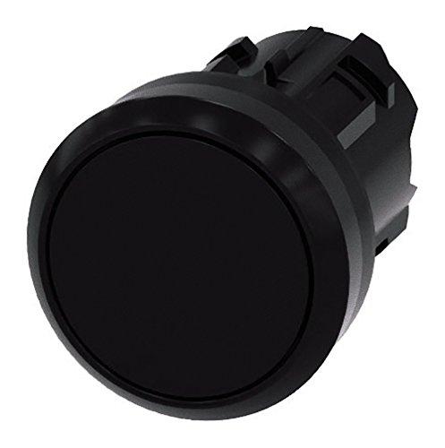Siemens Sirius ATC - Poussoir Noir Bouton rond rasante Durable Retour