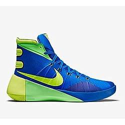 Hyperdunk 2015 Soar / voltio / zapatillas de baloncesto verde Huelga 12 con nosotros
