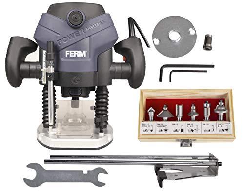 Ferm PRM1015 Fresadora de precisión 1300 W