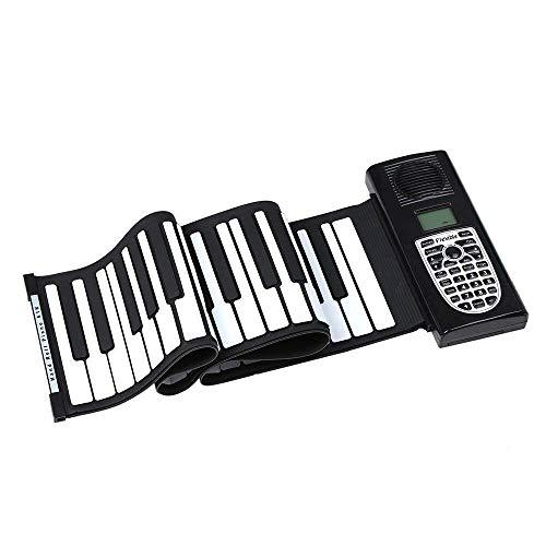 erspielzeug, klappbares 61-Tasten-Rollenklavier mit 128 Klängen und 128 Rhythmen for musikalisches Kinderspielzeug ()