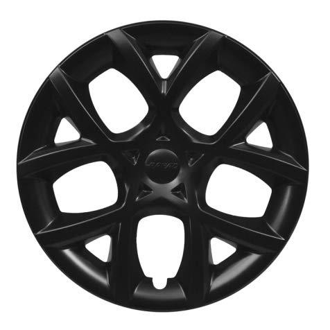 Farad Kit 4PZ Copricerchi Universali (Nero Opaco, Cerchio 16')