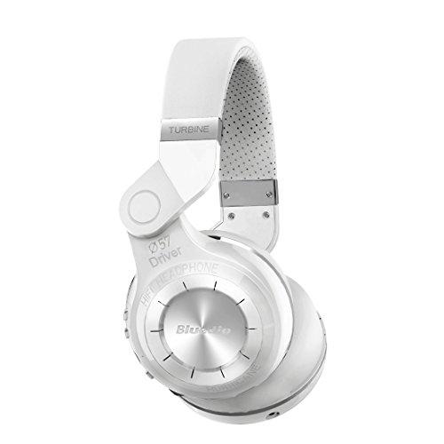 Bluedio-T2-turbina-2-Stereo-Bluetooth-Cuffie-senza-fili-Bluetooth-41-auricolare-on-the-Ear-Bianco