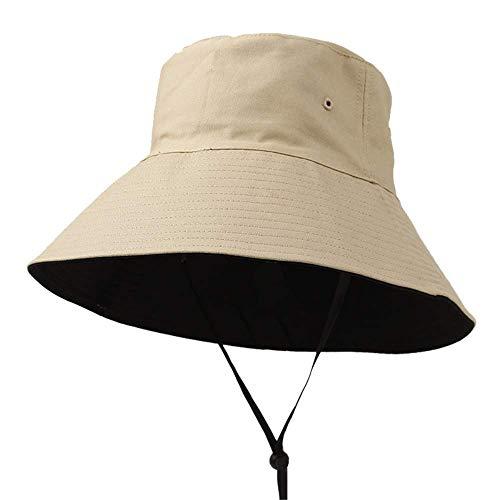 BCYNZH Fischer Hut Herbst Frauen großen Kopf Hut Sommer koreanische Version japanische Sonnenhut Sonnenhut Sonnenhut
