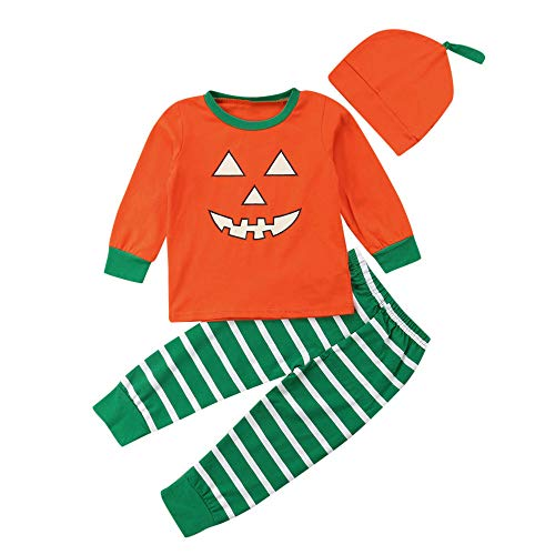 (Halloween Outfits Familien Pyjamas Baby-Mädchen Strampler Jumpsuit Nachtwäsche)