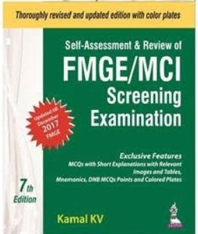 Self-Assessment & Review of FMGE/MCI Screening Examination 7th Edition