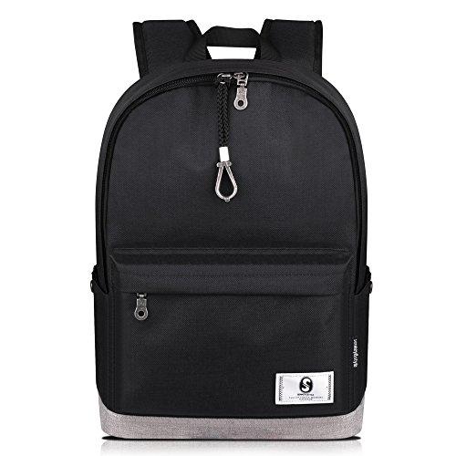 Wsnh888 borsa da viaggio zaino da viaggio zaino computer zaino da donna in tessuto moda casual impermeabile per uomini e donne,e