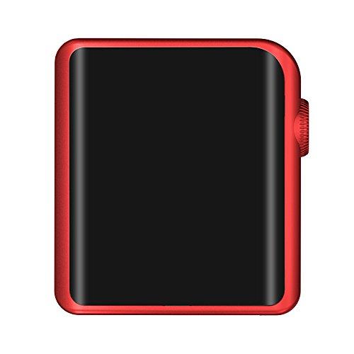 Shanling M0 Reproductor de Audio Digital y DAC, portátil, sin pérdidas, Color Negro Rosso