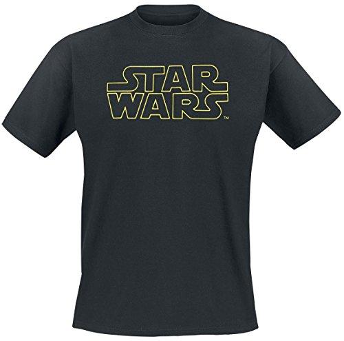 Star Wars Logo T-Shirt nero Nero