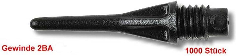 Dartspitzen PRO-TIP 1000 Stück kurz schwarz
